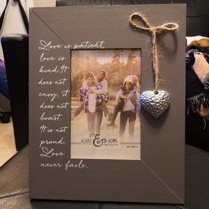 Heart & Home Picture Frame